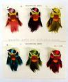 artificial de aves de plumas