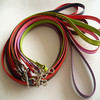 LOW MOQ Pearlescent Finish pet chain leash leather dog Leashes