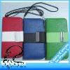 Leather Flip Clutch Wallet Wristlet Handbag Case For iPhone 5