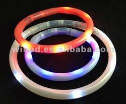 Wholesale waterproof silicone led dog shock collars