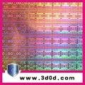 Seguridad lucha contra la falsificación 3d estereogramas