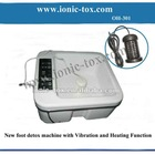 New body ion cell detox spa equipment with heating to keep warm