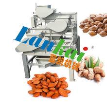 three class almond shelling machine,almond dehulling machine
