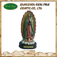 The Resin Our Lady Of Guadalupe Statue, Resin Religious Figurine