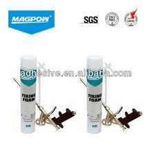 MAGPOW polyurethane expanding fixing foam