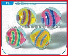 High quality 60mm kids sport rubber bouncing ball