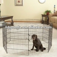 Pet Exercise Pen - Black E-Coat/9 & 11 gauge wire
