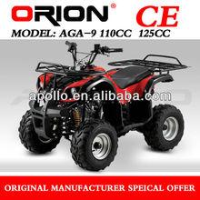 China Apollo Orion 2015 new style semi auto 125CC ATV Sport Quad AGA-9 Utility Atv