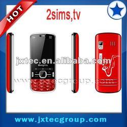 Q6 2sim 2012 new tv cellphone support msn flash light