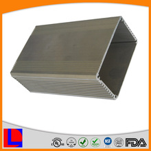 6000 series extruded square profile weight of aluminum section
