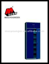 Steel large dark blue filing cabinet