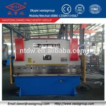 WC67K-200/3200 Electro-hydraulic synchronized press brake exported to Singapore