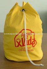 2012 Hot sale cotton drawstring sport bags