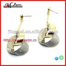 E2906 Fashionable basketball wives earrings