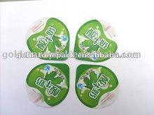 Yoghurt Sealing material for food packaging