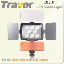 Travor IS-L8 with 8pcs LED photography studio equipment