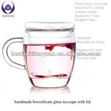 New! Colored Borosilicate handmade glass
