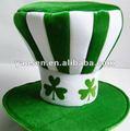 Loco Shamrock tío sam sombrero para verde irlanda festival