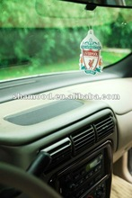Customized Auto Paper Air Freshener With Cute Fashinable Design And Various Fragrances For Your Choice