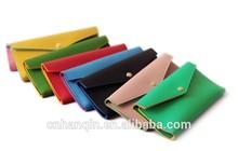 Wholesale PU envelope ladies purse