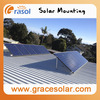 Renewable Solar Power Bracket of Flat Roof, Grace Solar Power Energy System, Adjustable Solar Roof Racking System& Low Price