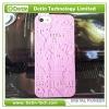 2013 Fashion Design Embossment Castle 3d hard case for iphone 5