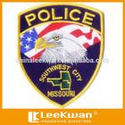embroidery design patch custom badge eagle emblem