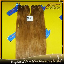 fashion 100% human hair #8 silky straight wholesale price hair dealers