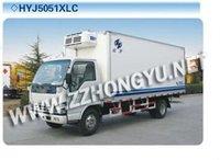 JAC refrigerator truck,refrigerated train car,refrigerated box car