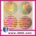 De seguridad contra la falsificación 3D estereogramas