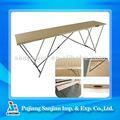 3 3m seções de madeira e colando papel de parede de mesa
