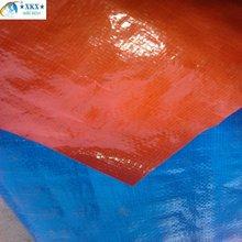 Orange Canvas tarpaulin for transportation and storage with UV