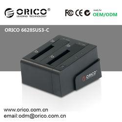 ORICO 6628SUS3-C 2 Bay Duplicator HDD docking station HDD enclosure Hard Drive Case