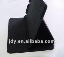 Two-style pattern PU leather case gear folding for mini ipad
