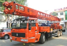BZC400ZY(400m) truck mounted water well drilling rig