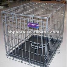 Dog Cage Grey Plastic Coating plastic dog house
