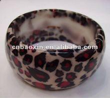 Fashionable Acrylic Bracelet Colorful Resin Bangle Bracelet