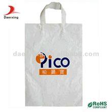 2012 Fashion handle plastic bag