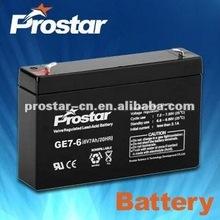 12v 5ah rechargeable sealed lead acid battery