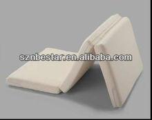 Hospital used Foldable medical bed mattress , foam mattrss pad