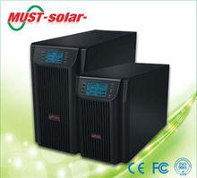 MUST Solar Online high frequency ups 1kva 2kva 3kva with external batteries