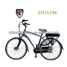 Newest design popular 24V/36V/250W with li-ion battery City e Bike with CE &EN15194