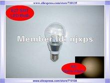 E27 SMT 5W 85-265V,450Lumens LED bulb, LED light