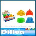 4 قطع بلاستيك لعبة شاطئ الرمال مجموعة للأطفال