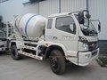 Foton forland 3.5 cbm camión de cemento para las ventas caliente