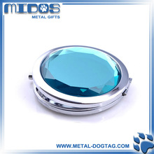 2012 new design jewel hand mirrors compact mirror pocket hand mirrors