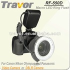 Hot!!!RF-550D Macro Led Ring Light For Nikon&Canon