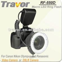 Hot!!!RF-550D Macro Led Ring Light For Nikon&Canon