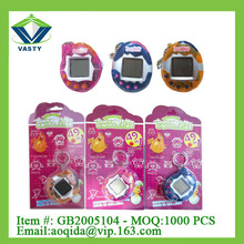 handheld virtual pet game,keychain electronic pet, handheld brick game