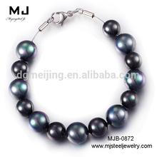 New Design Girl's Black Pearls Bracelet